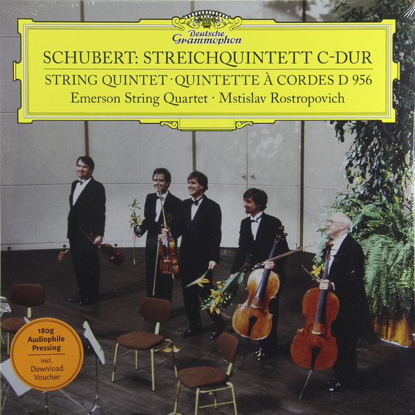 Mstislav Rostropovich Mstislav Rostropovich - Schubert:string Quintet (180 Gr) guano apes guano apes proud like a god 180 gr colour
