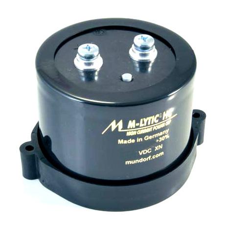 Конденсатор MundorfКонденсатор<br>Напряжение, В: 80; Размер, мм: 67 * 51; Ёмкость, мкФ: 10000<br>