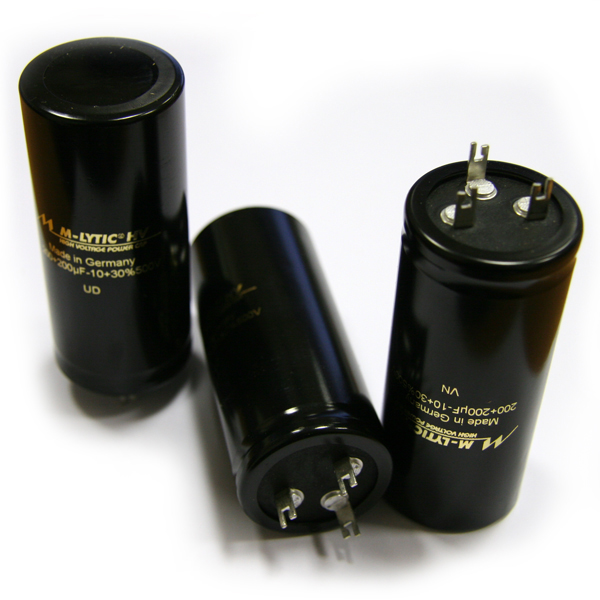 Конденсатор Mundorf M-Lytic HV MLSL 500 V 200+200 uF