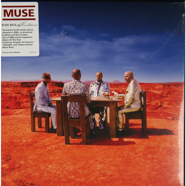 MUSE MUSE - BLACK HOLES   REVELATIONS muse