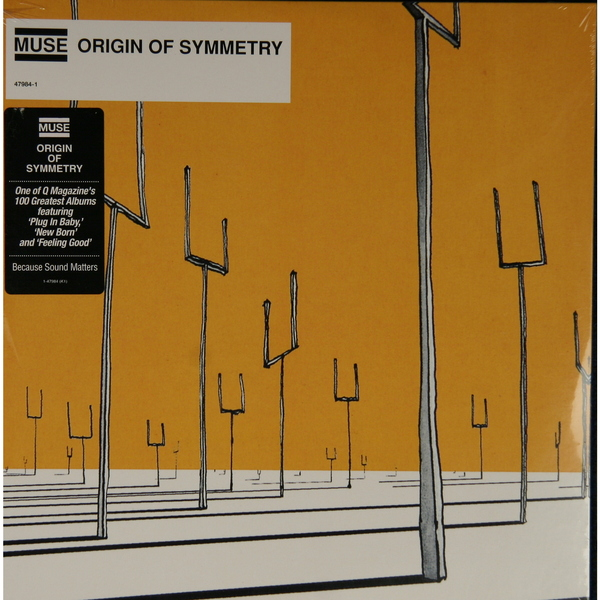 MUSE MUSE - ORIGIN OF SYMMETRY (2 LP - USA) muse