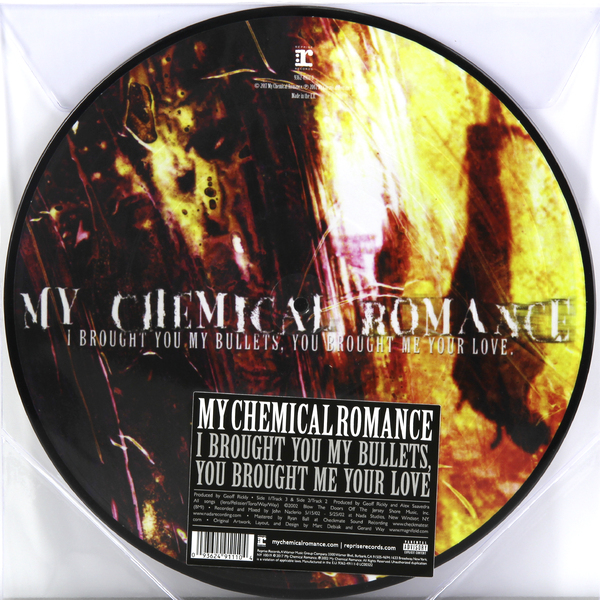 My Chemical Romance My Chemical Romance-i Brought You My Bullets, You Brought Me Your Love виниловая пластинка my chemical romance i brought you my bullets you brought me your love 1 lp