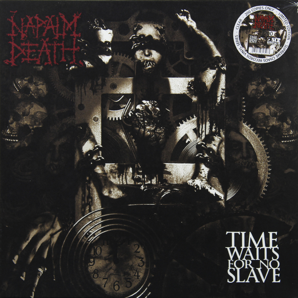 NAPALM DEATH NAPALM DEATH - TIME WAITS FOR NO SLAVE (CLEAR)Виниловая пластинка<br><br>