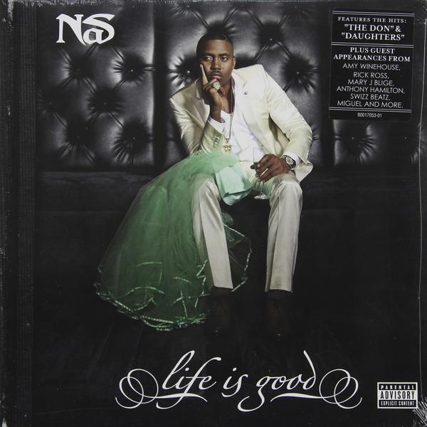 NAS NAS - LIFE IS GOOD (2 LP) lou donaldson lush life lp