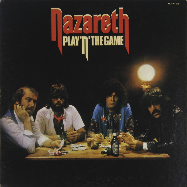 NAZARETH NAZARETH - PLAY'N'THE GAME (JAPAN ORIGINAL. 1ST PRESS) (винтаж) t rex t rex the slider japan original 1st press picture boock poster винтаж