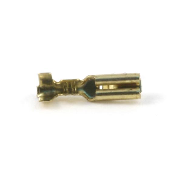 Клемма ножевая не изолированная 2,8 с замком (латунь) клемма tridonic sdkf 2