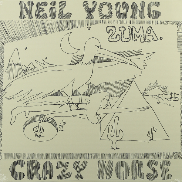 Neil Young Neil Young - Zuma виниловая пластинка neil young storytone