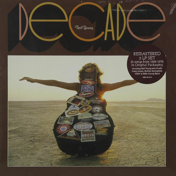 Neil Young Neil Young - Decade (3 Lp, Remastered) нил янг neil young neil young lp