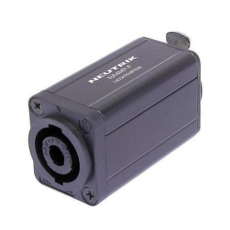 Переходник Neutrik NA4MP-F переходник neutrik nl8mm