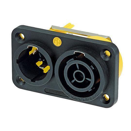 Терминал Powercon Neutrik NAC3PX разъем powercon neutrik nac3fca
