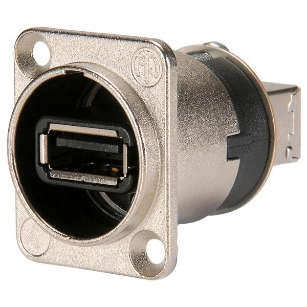 Терминал USB Neutrik NAUSB-W терминал powercon neutrik nac3mpa 1