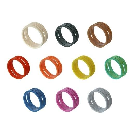 Маркировочное кольцо Neutrik XXR-0 Black