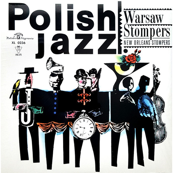 New Orleans Stompers New Orleans Stompers - Warsaw Stompers (180 Gr)