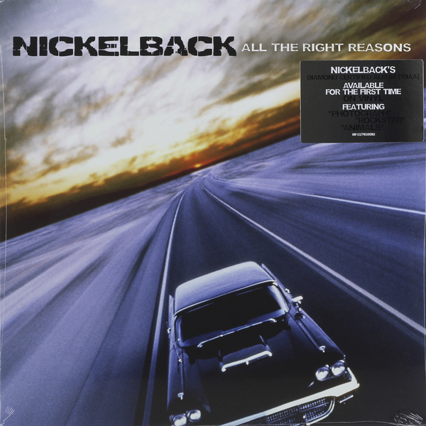 Nickelback Nickelback - All The Right Reasons cd диск nickelback the triple album collection vol 2 all the right reasons dark horse here and now 3 cd