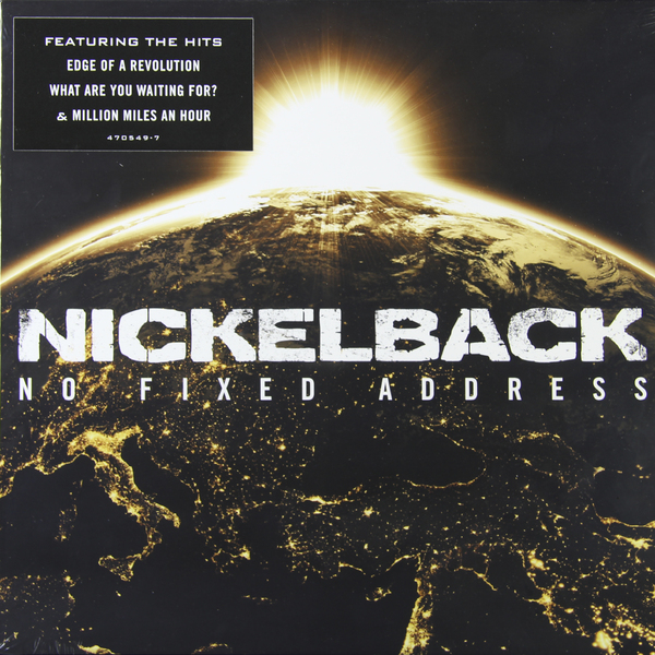 NICKELBACK NICKELBACK - NO FIXED ADDRESSВиниловая пластинка<br><br>