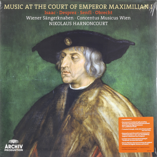 Nikolaus Harnoncourt Nikolaus Harnoncourt - Music At The Court Of Emperor Maximilian I deppa азу deppa usb 1а дата кабель 8 pin apple mfi ultra витой black