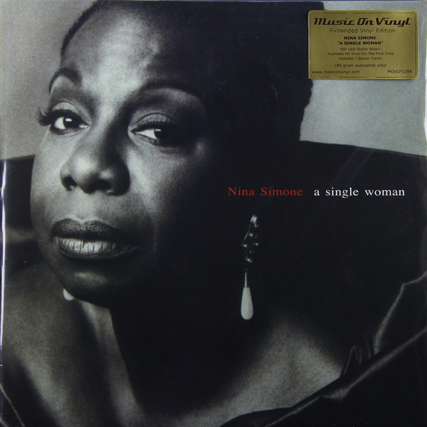 NINA SIMONE NINA SIMONE - A SINGLE WOMANВиниловая пластинка<br><br>