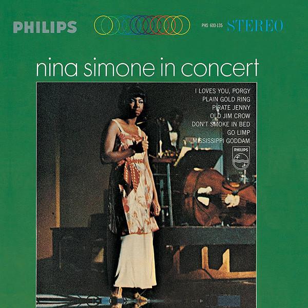 Nina Simone Nina Simone - In Concert холст 30x30 printio nina simone
