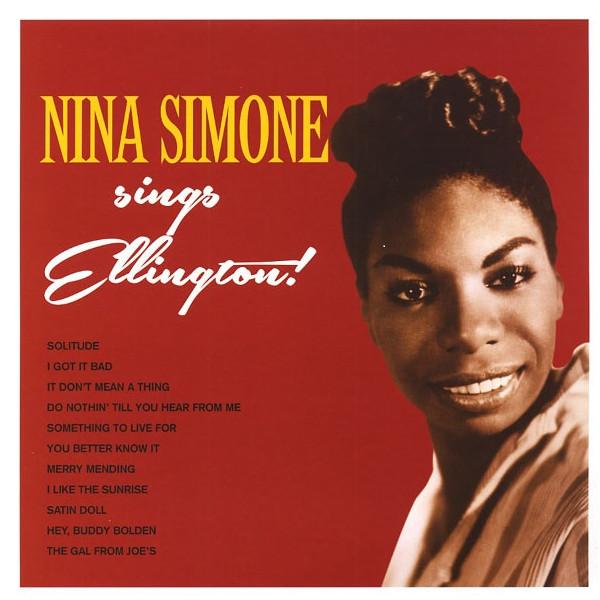 Nina Simone Nina Simone - Nina Simone Sings Duke Ellington холст 30x30 printio nina simone