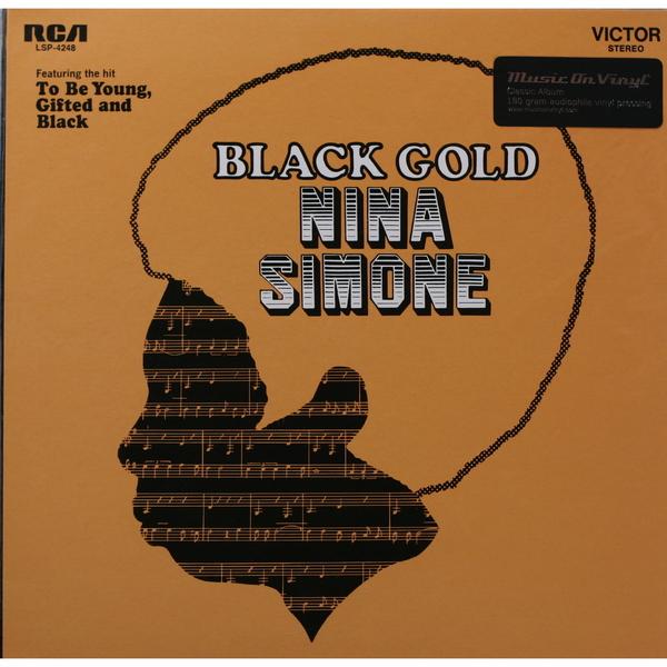 Nina Simone Nina Simone - Black Gold (180 Gr) холст 30x30 printio nina simone