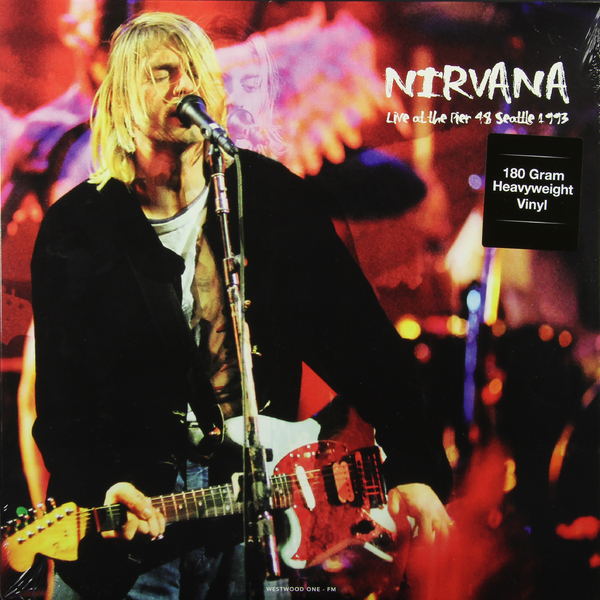 NIRVANA NIRVANA - LIVE AT PIER, SEATTLE (180 GR)