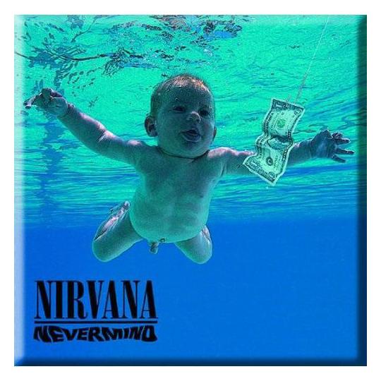 Магнит Nirvana - Nevermind