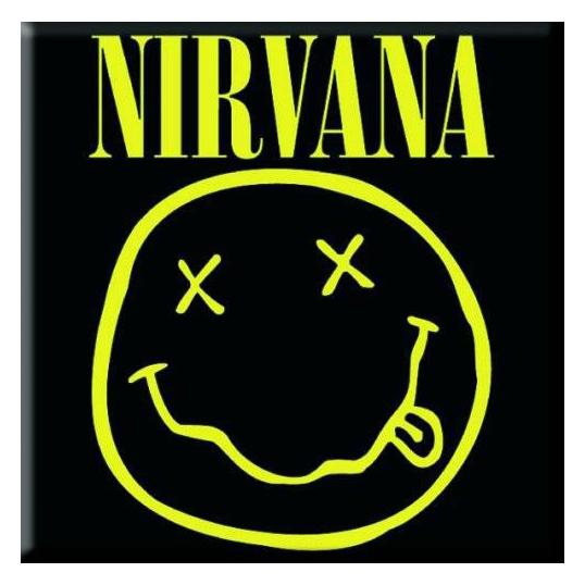 Магнит Nirvana - Smiley