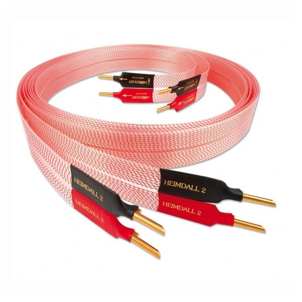 Кабель акустический готовый Nordost Heimdall 2 2 m кабель акустический готовый nordost frey 2 4 m