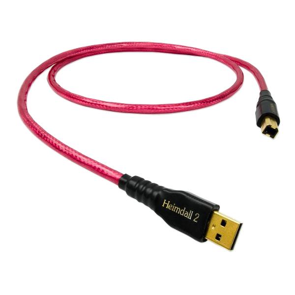 Кабель USB Nordost Heimdall 2 3 m кабель акустический готовый nordost frey 2 2 m
