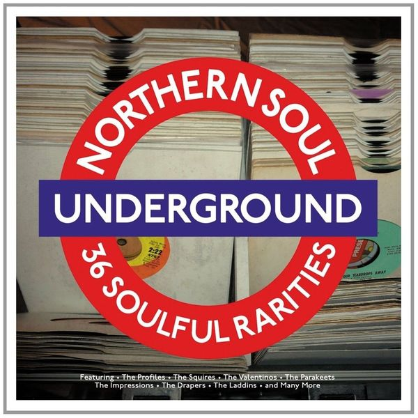 VARIOUS ARTISTS VARIOUS ARTISTS - NORTHERN SOUL UNDERGROUND - 36 SOULFUL RARITIES (2 LP, 180 GR) various artists various artists the legacy of… soul 2 lp