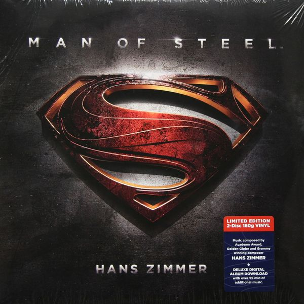 САУНДТРЕК САУНДТРЕК-MAN OF STEEL (2 LP)