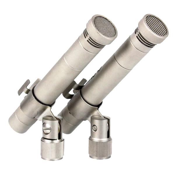 Студийный микрофон ОктаваСтудийный микрофон<br>Стереопара малогабаритных конденсаторных микрофонов, каждый с одним капсюлем и кардиоидной направленностью. Предназначены для использования в радиовещании, озвучивания киносъемок, звукоусиления в театре и студиях звукозаписи, а также для записи музыкальных инструментов. Встроенный аттенюатор, отсутствие трансформатора в схеме, широкая и равномерная АЧХ.<br>