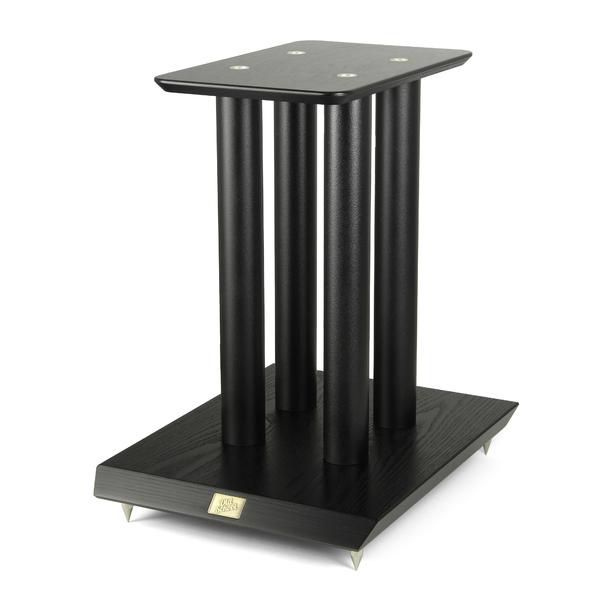 Стойка для акустики Old School S5B Black Ash стойка для акустики waterfall подставка под акустику shelf stands hurricane black