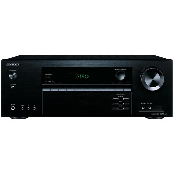 AV ресивер Onkyo TX-NR474 Black onkyo tx 8020 black