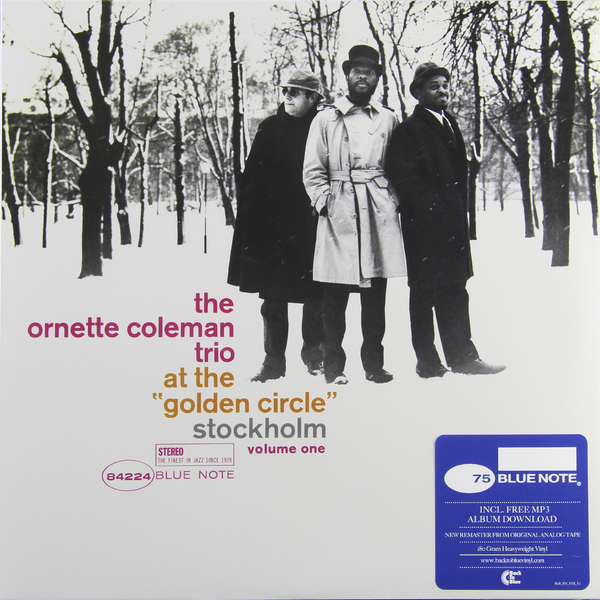 Ornette Coleman Ornette Coleman - At The Golden Circle Stockholm Vol.1 (180 Gr) at the gates at the gates at war with reality 180 gr