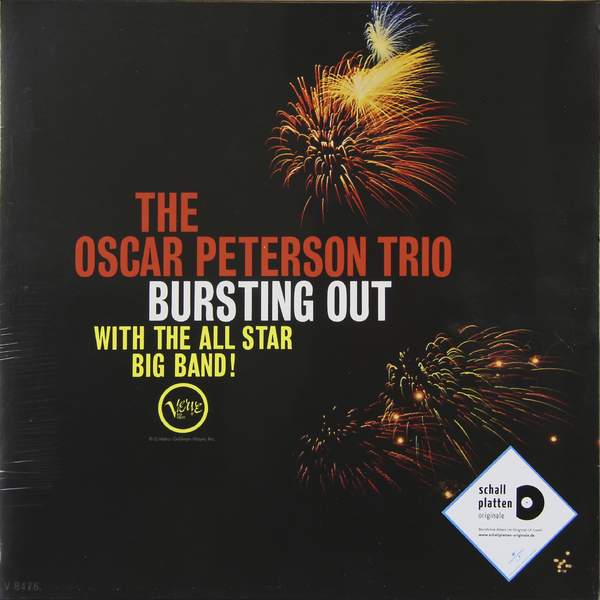 Oscar Peterson Oscar Peterson - Bursting Out With The All Star Big Band виниловая пластинка oscar peterson the trio