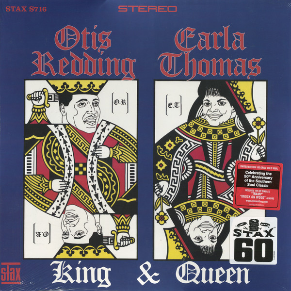 Otis Redding   Carla Thomas Otis Redding   Carla Thomas - King   Queen (50th Anniversary) (180 Gr)