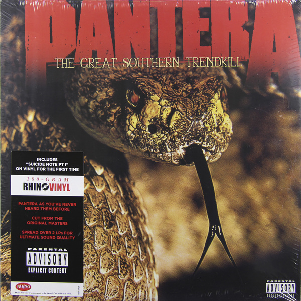 Pantera Pantera - The Great Southern Trendkill (2 Lp, 180 Gr) the black keys the black keys el camino 2 lp