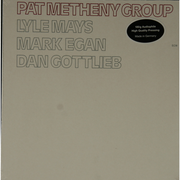 Pat Metheny Pat Metheny - Pat Metheny Group (180 Gr) компьютерная мышка pat says now pat 5379
