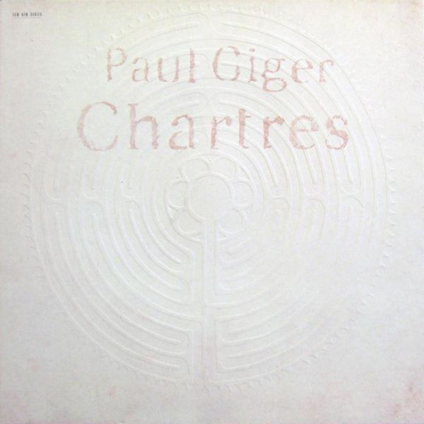 PAUL GIGER PAUL GIGER - CHARTRES