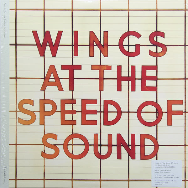 Paul Mccartney Paul Mccartney   Wings - Wings At The Speed Of Sound (2 LP)