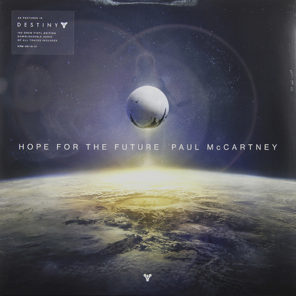 PAUL MCCARTNEY PAUL MCCARTNEY - HOPE FOR THE FUTURE (180 GR)