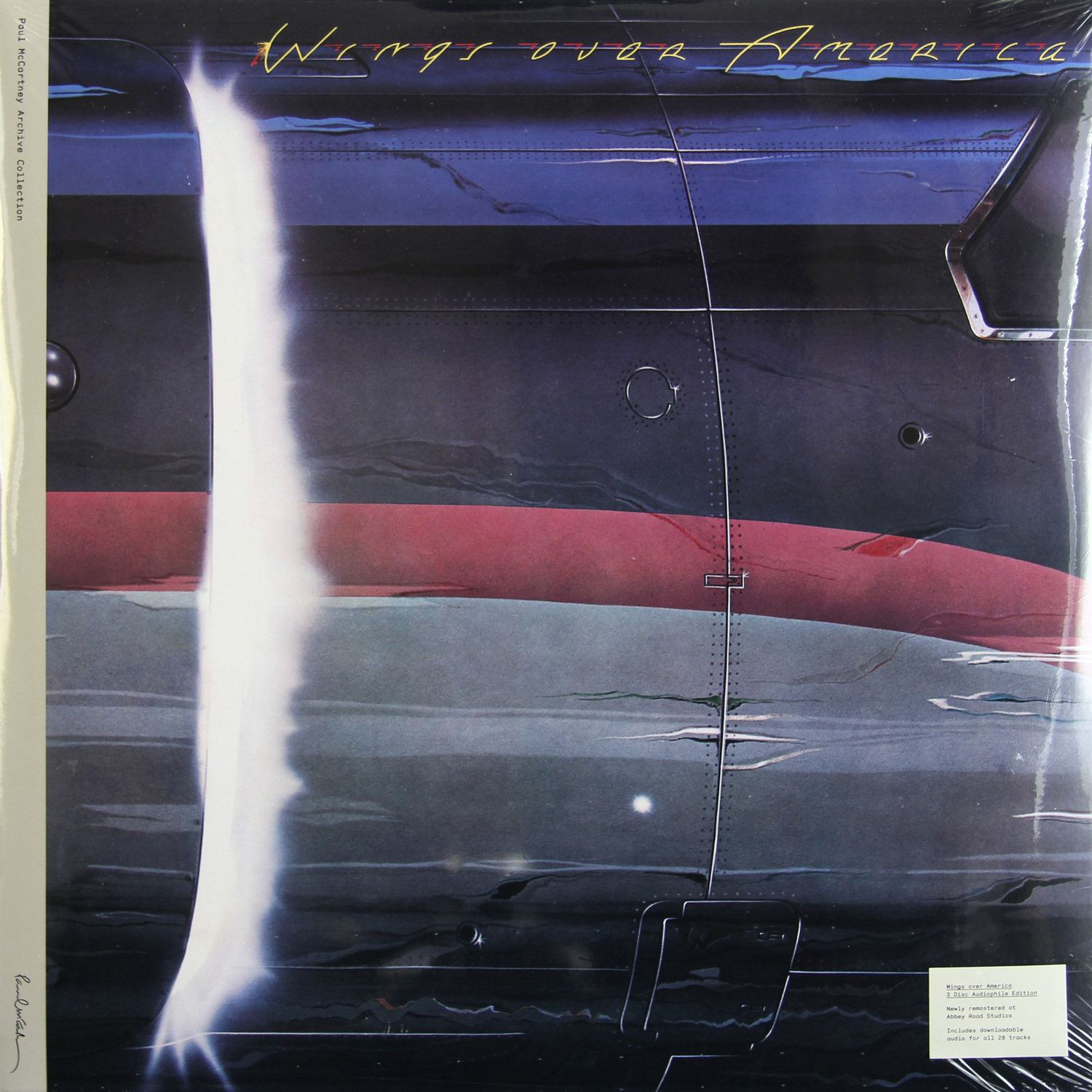 PAUL MCCARTNEY PAUL MCCARTNEY - WINGS OVER AMERICA (3 LP, 180 GR) цена 2016