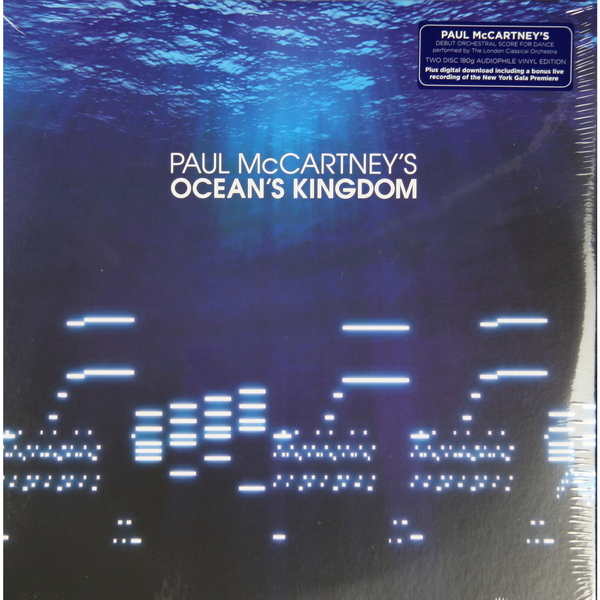PAUL MCCARTNEY PAUL MCCARTNEY - OCEAN'S KINGDOM (2 LP, 180 GR) цена 2016
