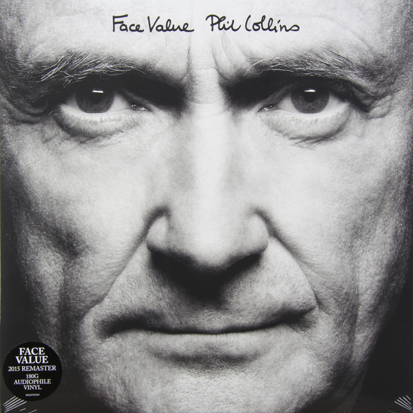 Phil Collins Phil Collins - Face Value phil collins singles 4 lp