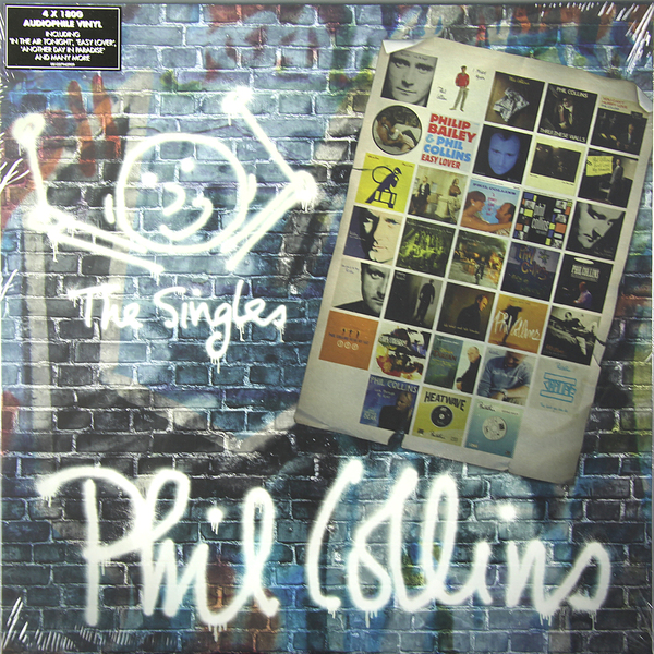 Phil Collins Phil Collins - The Singles (4 Lp, 180 Gr) phil collins phil collins the essential going back 180 gr