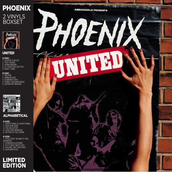 Phoenix Phoenix - United / Alphabetical (2 LP) phoenix phoenix united alphabetical 2 lp