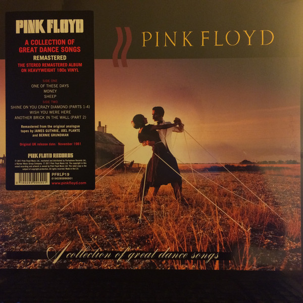 Pink Floyd Pink Floyd - A Collection Of Great Dance Songs (180 Gr) pink floyd meddle a classic album under review