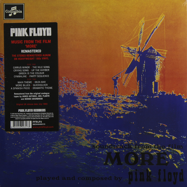 Pink Floyd Pink Floyd - More (180 Gr) pink floyd pink floyd wish you were here 180 gr