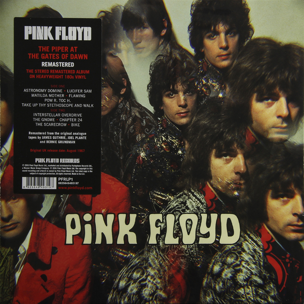 Pink Floyd Pink Floyd - The Piper At The Gates Of Dawn (180 Gr) at the gates at the gates at war with reality 180 gr